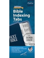 Picture of Bible Index Tabs Silver Edge