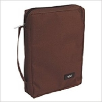 Picture of Bible Bag Value With Fish Badge Cappuccino Large