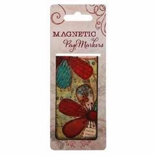 Picture of Magnetic Page Markers Great Things Ps 126:3