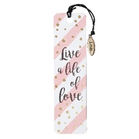 Picture of Bookmark with Charm Live A Life of Love