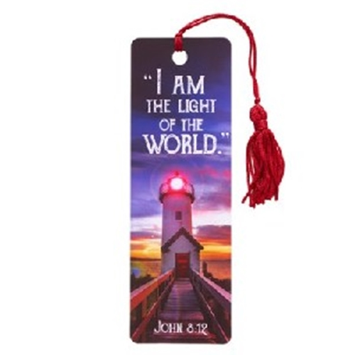 Picture of Bookmark Pvc I Am The Light Of The World