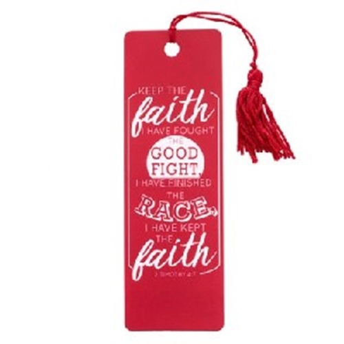 Picture of Bookmark Pvc Keep The Faith