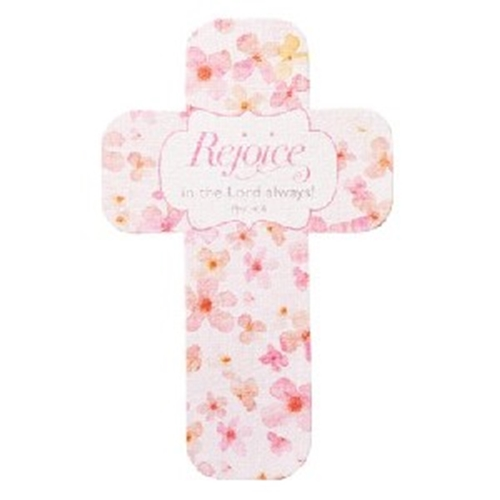 Picture of Cross Bookmark Rejoice In The Lord Always