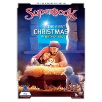 Picture of SUPERBOOK THE FIRST CHRISTMAS DVD