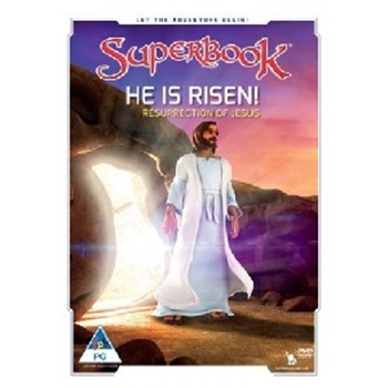 Picture of SUPERBOOK HE IS RISEN DVD