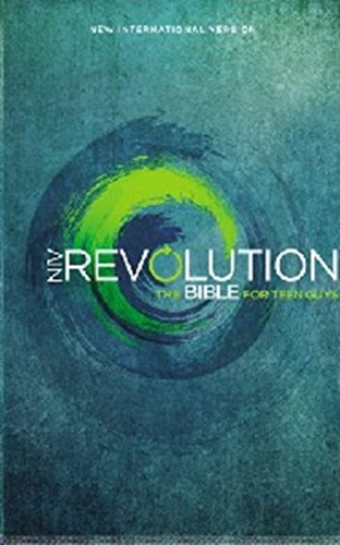Picture of NIV Revolution Bible For Teen Guys