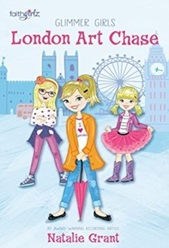 Picture of Glimmer Girls #1 London Art Chase