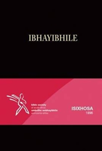 Picture of Xhosa Bible 1996 Standard Black Hardcover