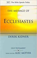 Picture of Message of Ecclesiastes (BST)