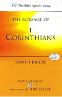 Picture of Message of 1 Corinthians (BST)