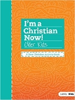 Picture of I'm A Christian Now Older Kid Activity Book