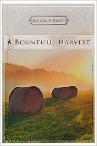 Picture of Words Of Hope Bountiful Harvest