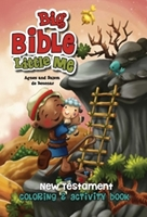 Picture of BIG BIBLE LITTLE ME NEW TESTAMENT COLOURING/ACTIVI