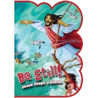 Picture of BE STILL JESUS STOPS THE STORM SPONGE BOOK