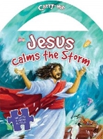 Picture of Jesus Calms The Storm Jigsaw Book