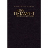 Picture of NIV NEW TESTAMENT, PSALM, PROVERBS BLUE