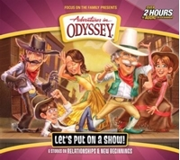 Picture of ADVENTURES IN ODYSSEY LETS PUT ON A SHOW (#62 )