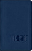 Picture of MESSAGE BIBLE COMPACT MIDNIGHT BLUE