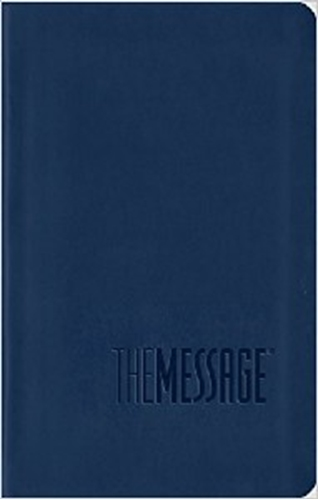 Picture of The Message Bible Compact Midnight Blue