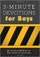 Picture of 3 MINUTES DEVOTIONS FOR BOYS