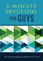 Picture of 3 Minute Devotions For Guys