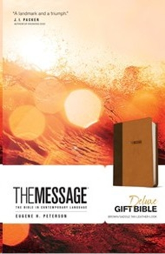 Picture of The Message Deluxe Gift Bible