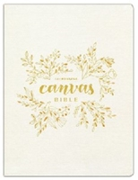 Picture of The Message Bible Canvas, Gold Leaf