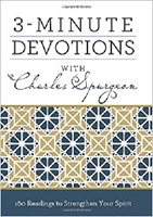 Picture of 3 MINUTE DEVOTIONS WITH CHARLES SPURGEON