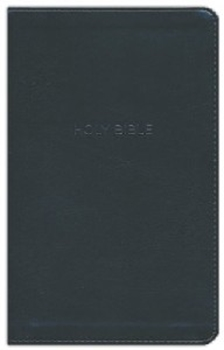 Picture of NKJV Thineline Bible Leathersoft Black