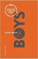 Picture of CSB Study Bible For Boys Hardcover
