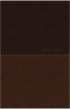 Picture of NKJV Delux Gift Bible Leathersoft Tan