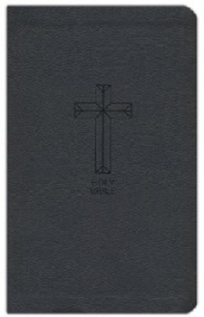 Picture of NKJV Thineline Value Bible Leathersoft Black