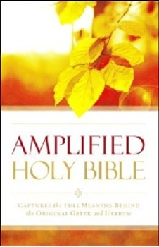 Picture of Amplified Bible Outreach Edition