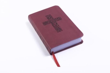 Picture of Csb Pocket Gift Bible Leathertouch Burgandy
