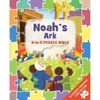 Picture of Noahs Ark 6 In 1 Puzzle Bible