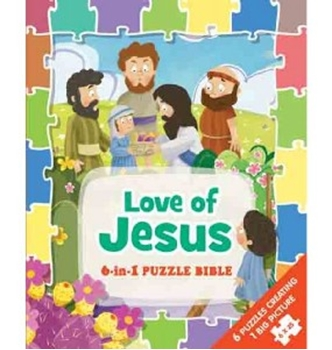 Picture of Love Of Jesus 6 In 1 Puzzle Bible