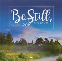 Picture of CALENDAR SMALL 2019 BE STILL AND KNOW