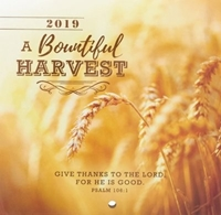 Picture of CALENDAR SMALL 2019 A BEAUTIFUL HARVEST