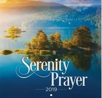 Picture of CALENDAR LARGE 2019 SERENITY PRAYER