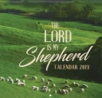 Picture of CALENDAR LARGE 2019 THE LORD IS MY SHEPHERD