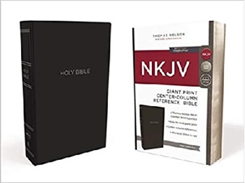 Picture of NKJV Center Column Reference Bible Giant Print