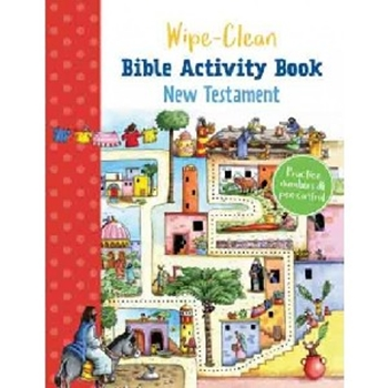 Picture of Wipe Clean Bible Activity Book New Testament