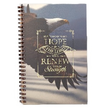 Picture of Notebook Wirebound But Those Who Hope In The Lord