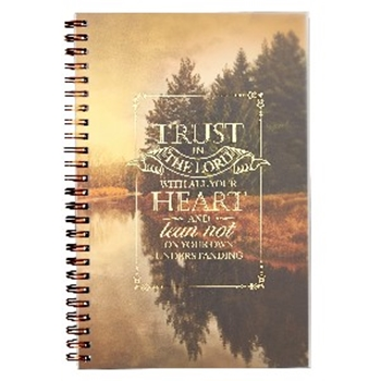 Picture of Notebook Wirebound Trust In The Lord With All