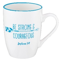 Picture of Mug Be Strong & Courageous Joshua 1:9