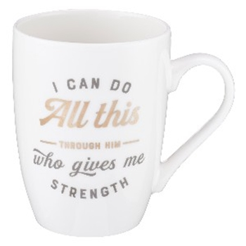 Picture of Mug I Can Do All Things Through Chist