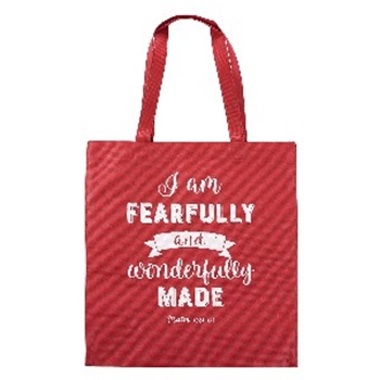 Picture of Shopping Bag I Am Fearfully And Wonderfully