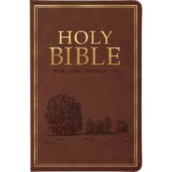 Picture of Nlt Standard Indexed Bible Brown Luxleather