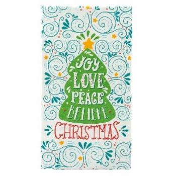 Picture of Joy Love Peace Believe Christmas Napkins
