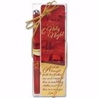 Picture of BOOKMARK AND PEN GIFT SET HOLY NIGHT